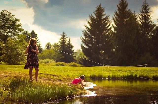 Jezioro w długi weekend